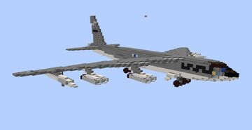 B-52D Stratofortress (1.5:1) Minecraft Map & Project