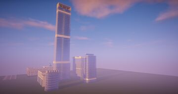 Abu Dhabi Plaza Minecraft Map & Project