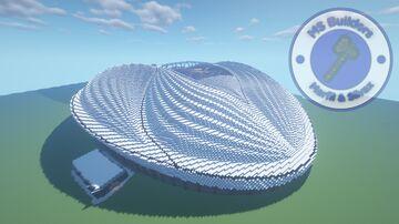 Al Wakrah Stadium Minecraft Map & Project