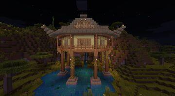 Pond Hanok Minecraft Map & Project