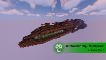 Necromancer Ship - The Revenant Minecraft Map & Project