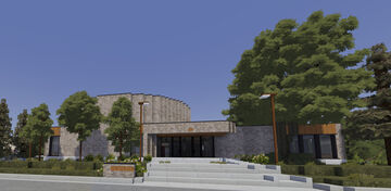 Chesterfield Public Library | TRS Minecraft Map & Project