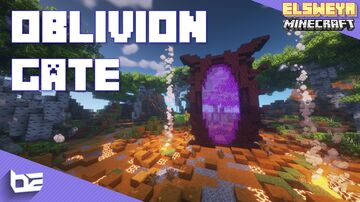Oblivion Gate (Nether Portal) - The Elder Scrolls Minecraft Map & Project