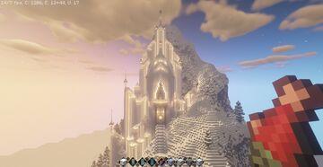 Elsa Palacio En Hielo En Minecraft Hecho Por Mi Minecraft Map & Project