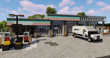 Mechanic shop | TRS Minecraft Map & Project