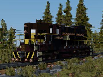 "EMD GP-7 locomotive ""Alaska Railroad"" Minecraft Map & Project"
