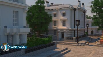 Dock Lane, Walhampton. Large Victorian Houses Minecraft Map & Project