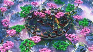 Japanese Lobby/Hub For Server or Network + Download Free Minecraft Map & Project
