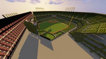 Minecraft Camden Yards- Home of the Baltimore Orioles (+Download) Minecraft Map & Project