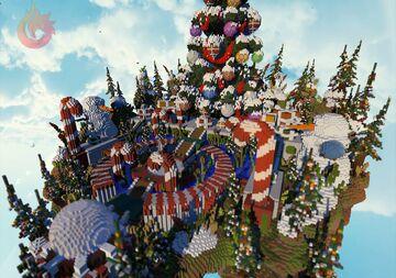 ⛄ [300x300] ESPECIAL CHRISTMAS HUB ⛄ ► PHOENIXBUILDS Minecraft Map & Project