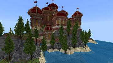 "Minecraft Build ""Reino De Fuego"" Minecraft Map & Project"