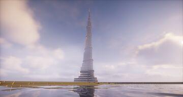 Burj Khalifa ( Dubai ) Minecraft Map & Project