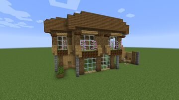 Medieval House 1 Minecraft Map & Project