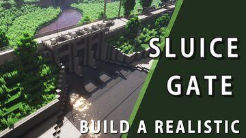 sluice gate area Minecraft Map & Project