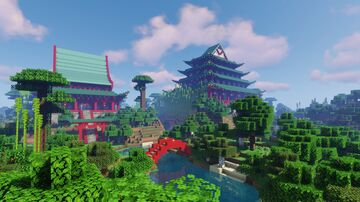 Panda Haven Minecraft Map & Project