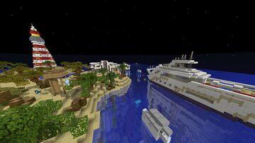 Minecraft Pixelmon Beach Resort Minecraft Map & Project