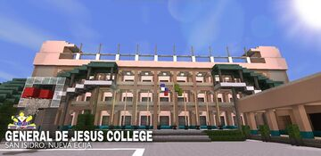 General De Jesus College GJC in Minecraft Pocket Edtion Minecraft Map & Project