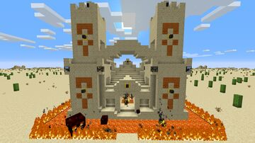 Desert Destroyer Temple Minecraft Map & Project
