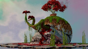 Nature Crying - Minecraft Concept Art Minecraft Map & Project