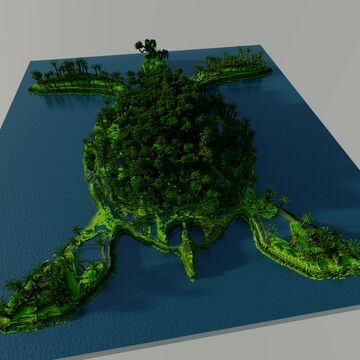 giant turtle now with download! Minecraft Map & Project