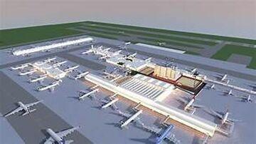 Denver/Atlanta Based International Airport Minecraft Map & Project