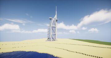 Burj Al Arab ( Dubai ) Minecraft Map & Project
