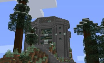 Hill top castle 1.15.2 Minecraft Map & Project