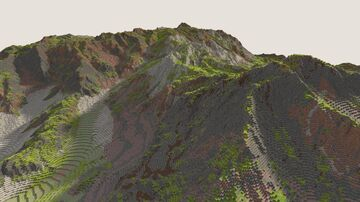 Distorted Terrain Test Minecraft Map & Project
