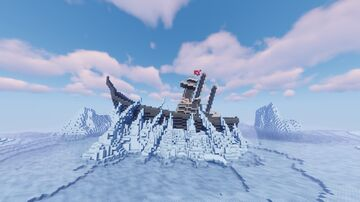 Fire Nation Ice Shipwreck Build (Avatar The Last Airbender) Minecraft Map & Project