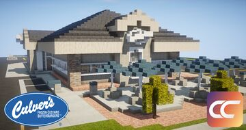 Culvers Restaurant | By: Mr_D.U.O. | CCS Minecraft Map & Project
