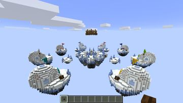 Glacier Map Bed Wars Map Minecraft Map & Project