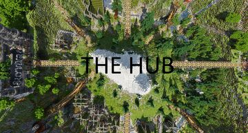 THE Hub Minecraft Map & Project