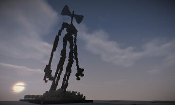 Siren Head (Cubed Community) Minecraft Map & Project