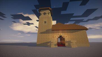Historical Architecture: Iglesia de Tomelloso Minecraft Map & Project