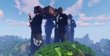 Astronomia Dancing Coffin Meme House Minecraft Map & Project