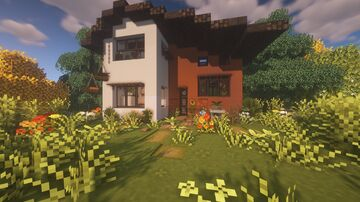 plains cottage Minecraft Map & Project