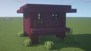 Crimson Witch Hut [Free Download] Minecraft Map & Project