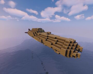 """Amateur"" built submarine for movecraft Minecraft Map & Project"