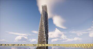 Cayan Tower ( Dubai ) Minecraft Map & Project
