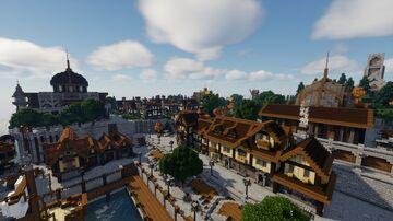 Klifhellir |Nordic Inspired Fictional Island| Minecraft Map & Project