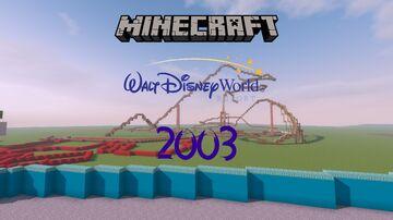 Walt Disney World 2003 Minecraft Map & Project