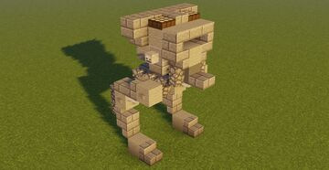 STAR WARS All Terrain Scout Transport FO Minecraft Map & Project