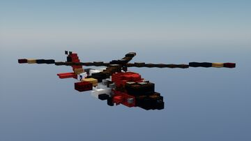 Sikorsky MH-60t jayhawk 1.5:1 scale Minecraft Map & Project
