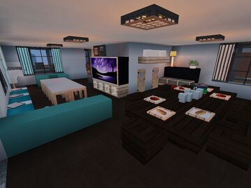 Interior Decorators Contest - Cedar Estate - Entry by mine1989 Minecraft Map & Project