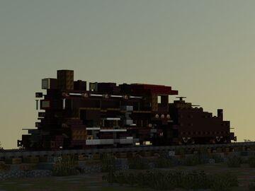 USRA 0-6-0 steam locomotive switcher with tender Minecraft Map & Project