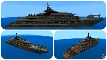 Minecraft Kismet Charter Yacht Tutorial Download + interior Minecraft Map & Project