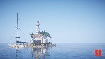 Sweet Little Light House Minecraft Map & Project
