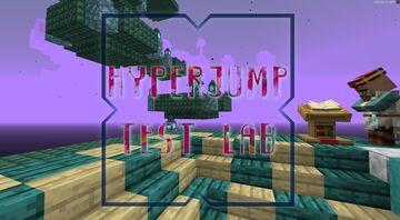 HyperJump Test Lab Minecraft Map & Project