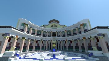Triconque Palace Constantinople Minecraft Map & Project