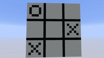Tic-Tac-Toe Minecraft Map & Project